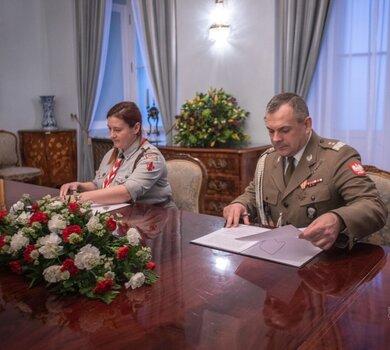 Porozumienie o współpracy WOT z ZHP i ZHR