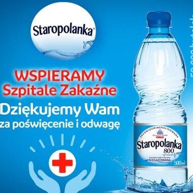 Grupa KGHM przekazanie wody mineralnej do 19 szpitali zakaźnych w Polsce.jpg