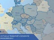 Mapa z aktualnymi informacjami i transmisje wideo dla firm transportowych