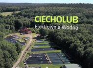 Elektrownie OZE Grupy Energa - Elektrownia Wodna Ciecholub [mat. wideo]