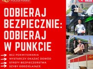 Poczta Polska zaleca korzystanie z usługi Odbiór w Punkcie. To wygodna i bezpieczna metoda odebrania przesyłki