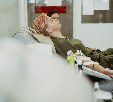 Ponad 1000 litrów krwi od Terytorialsów i podchorążych