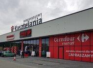 Supermarket Carrefour w Parku Handlowym Kasztelania w Chrzanowie