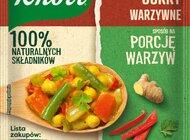 Nowość - Fixy Sposób na porcję warzyw Knorr