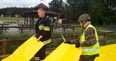 Żołnierze 2LBOT wspierają strażaków w Biłgoraju.bin