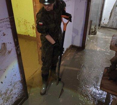 Korzeniec k. Birczy, wsparcie mieszkańców zatopionych domów