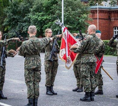 Przysięga Terytorialsów w Toruniu