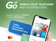 Carrefour Polska uruchamia nową usługę Tank&Go