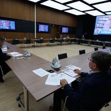 Spotkanie samorządówców z Zagłębia Miedziowego.JPG