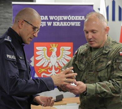 Małopolscy Terytorialsi podpisali porozumienie o współpracy z Policją.