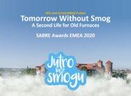 "MSL z nagrodą SABRE Awards 2020 EMEA za kampanię ""Jutro bez smogu"""