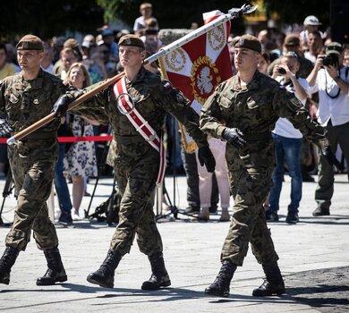 Podkarpaccy terytorialsi przysięgali w Nowej Dębie