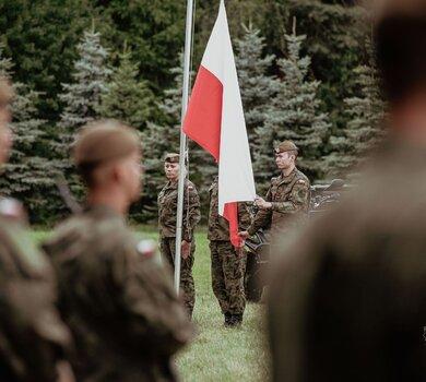 Przysięga żołnierzy 9ŁBOT w Kutnie