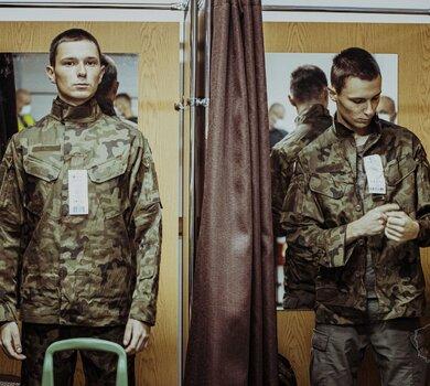 Ryszard i Roman - bliźniacy, którzy wstąpili w szeregi 10 Świętokrzyskiej Brygady OT