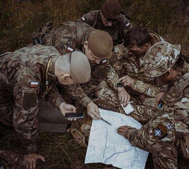 Żołnierze WOT na co dzień wykorzystują swoje komeptencje językowe
