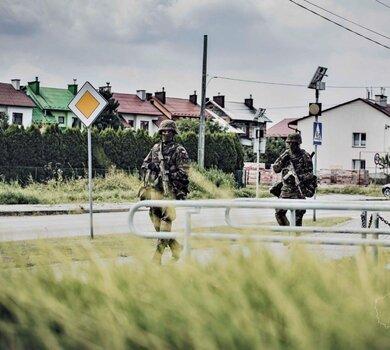 Szkolenie zintegrowane żołnierzy 3 Podkarpackiej Brygady OT
