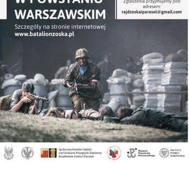 """Rajd szlakiem żołnierzy Batalionów """"Zośka"""" i """"Parasol"""" w Powstaniu Warszawskim"""