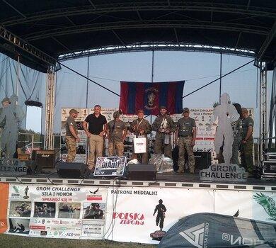 Podkarpaccy terytorialsi zwycięzcami 8. edycji Grom Challeng - Siła i Honor