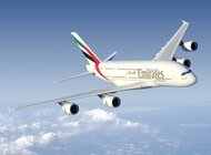 Flagowy samolot Emirates, Airbus A380, wraca do Moskwy