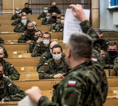 Pierwsza SONDA żołnierzy zawodowych.