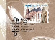 Poczta Polska upamiętniła 900-lecie głogowskiej kolegiaty
