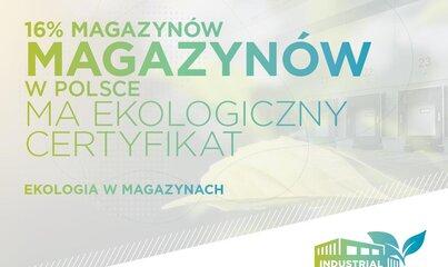 Cushman & Wakefield: 16% magazynów w Polsce ma już ekologiczny certyfikat