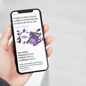 Jesienne promocje w Play na kartę – 100 GB dla nowych użytkowników i dwa razy więcej internetu w pak