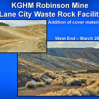 Reclamation of the Lane City Waste Rock Facility