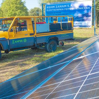 solar power plant ZANAM