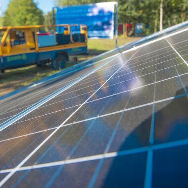 mini solar power plant