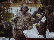Dolnośląscy Terytorialsi wspierają strażaków w akcji przeciwpowodziowej w gminie Dzierżoniów