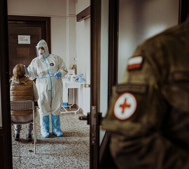 Terytorialsi wracają do szerokiego wsparcia szpitali