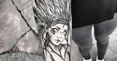 Damski tatuaż na przedramieniu, Inez Janiak Molęcka_ Inez Janiak-Molęcka.jpeg