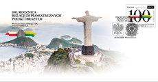 100_ rocznica relacji dyplomatycznych Polski i Brazylii_FDC.jpg