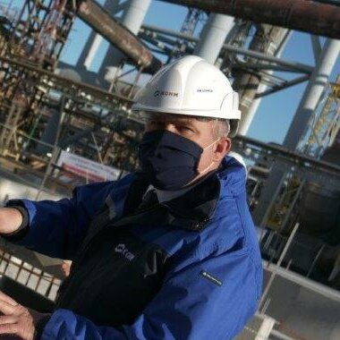 Wmurowanie kamienia węgielnego- Wiceprezes ds. Produkcji R. Stach.jpg