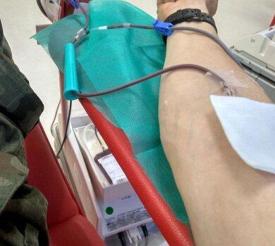 Pomorscy terytorialsi wspierają krwiodawstwo