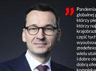 """Premier Morawiecki w wywiadzie dla """"PB"""" o podatkach, wecie i pandemii"""
