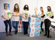 Wolontariusze Providenta przekazali ponad 1000 książek dla małych pacjentów, 100 prezentów dla dzieci z domów dziecka, zorganizowali zbiórkę dla uchodźców oraz wsparli schronisko dla zwierząt