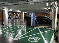 Ładowarki GreenWay Polska na parkingach Europark