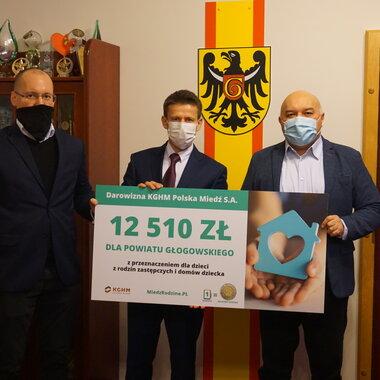 Pieniądze dla powiatu głogowskiego
