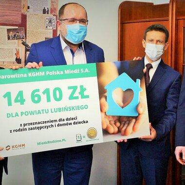 Wsparcie dla powiatu lubińskiego