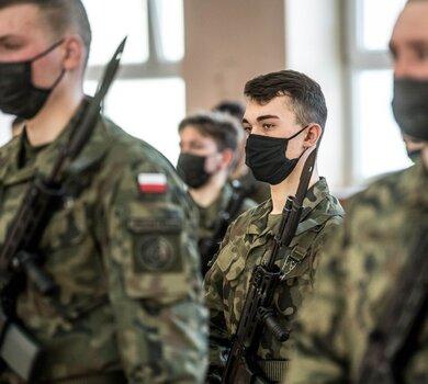 Pierwsza przysięga wojskowa w 2021 roku w 1 Podlaskiej Brygadzie OT