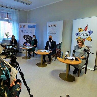 konferencja prasowa - Tydzień Walki z Depresją pod patronatem KGHM