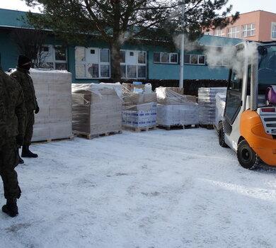 22 tony żywności trafiły do potrzebujących rodzin na Mazowszu