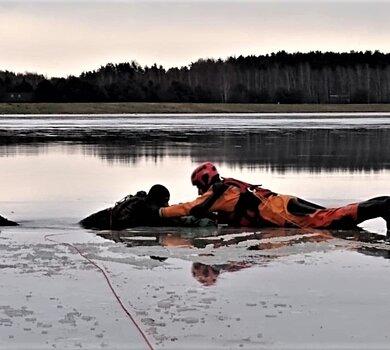 Szkolenie z ratownictwa lodowego