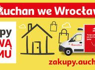 Auchan – nowa odsłona sklepu internetowego  30 kolejnych punktów odbioru i dostawy do domu we Wrocławiu