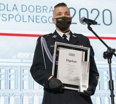 """kpr. Jakub Wachnicki – laureat V Nagrody Prezydenta RP """"Dla Dobra Wspólnego"""""""