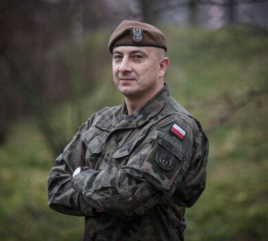 ppor. Ramzes Tomczuk - mąż zaufania WOT