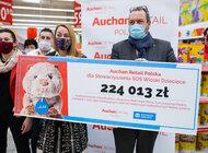 Auchan na rzecz Stowarzyszenia SOS Wioski Dziecięce w Polsce