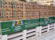 Auchan zapowiada całkowite wycofanie ze sprzedaży jaj z chowu klatkowego